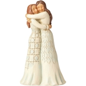 Enesco Jim Shore Heartwood Creek Two Girls Hugging Figurine