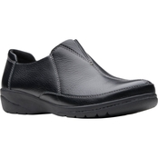 Clarks Cheyn Bow Gore Slip On Shoes