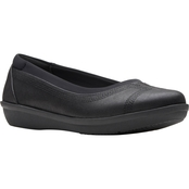 Clarks Ayla Low Casual Slip On Shoes