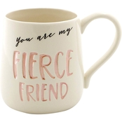 Our Name is Mud Fierce Friend Etched Mug