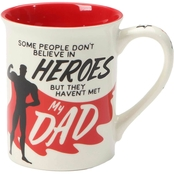 Our Name is Mud Dad Hero Mug