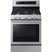 Samsung 5.9 cu. ft. Freestanding Gas Range with True Convection