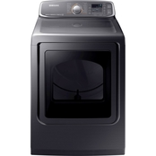 Samsung 7.4 cu. ft. Electric Front Load Dryer with Multi-Steam Technology