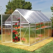 Palram PT Mythos 6 ft. x 14 ft. Silver Series Hobby Greenhouse