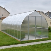 Palram Bella 8 ft. x 20 ft. Silver Hobby Greenhouse