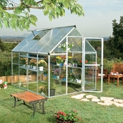 Palram Nature Hybrid 6 ft. x 8 ft. Greenhouse