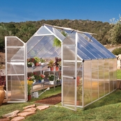 Palram Essence 8 x 12 Ft. Greenhouse, Silver