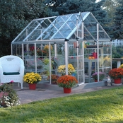 Palram Snap & Grow 6 x 8 Ft. Greenhouse, Silver
