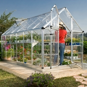 Palram Snap & Grow 6 x 12 Ft. Greenhouse, Silver