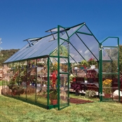 Palram Balance 8 x 12 Ft. Greenhouse, Green