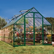 Palram Balance 8 x 20 Ft. Greenhouse, Green