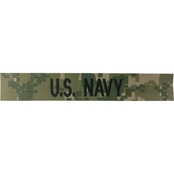 Embroidered Navy NWU Type III Branch of Service Tape