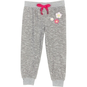 Gumballs Infant Girls Flower Jogger Pants