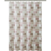 Bath Bliss Tile Design Shower Curtain