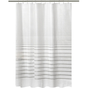 Bath Bliss Stripe Design Shower Curtain