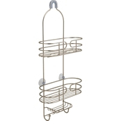 Bath Bliss Park Avenue Shower Caddy in Satin
