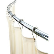 Bath Bliss Curved Tension Shower Rod