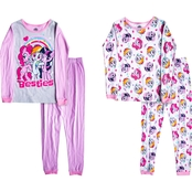 My Little Pony Little Girls Besties 4 pc. Pajamas Set