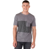 Unzipped Textured Pocket Tee