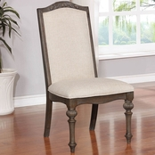 Furniture of America Arcadia Side Chair 2 pk.