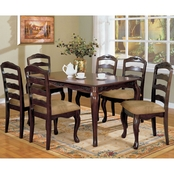 Furniture of America Townsville 5 pc. Dining Set