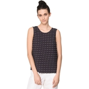 Armani Exchange Low Back Knit Tank