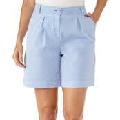 Armani Exchange Pleated Button Shorts