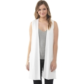 Kensie Cotton Blend Sweater Vest