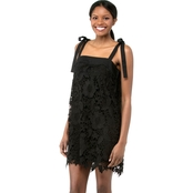Kensie Bold Garden Lace Dress
