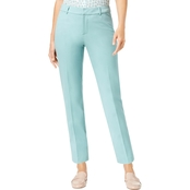 Charter Club Newport Slim Leg Cropped Pants