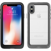 Pelican Marine iPhone X Case Clear Black