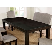 Furniture of America Teagan Counter Height Pub Table