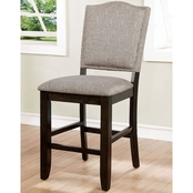 Furniture of America Teagan Counter Chair 2 pk.