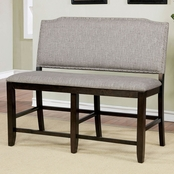 Furniture of America Teagan Counter Bench