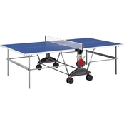 Kettler Top Star XL Outdoor Table Tennis Table with Outdoor Accessory Bundle