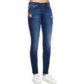 True Religion Curvy with Embroidery Jeans