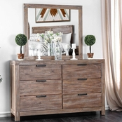Furniture of America Wynton 6 Drawer Dresser