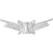 Air Force Basic Space Operations Badge, Mirror Finish, Midsize
