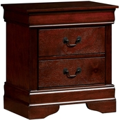 Furniture of America Louis Phillipe Nightstand