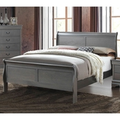 Furniture of America Louis Phillipe Queen Sleigh Bed