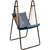 Algoma Sunbrella Soft Comfort Hanging Chair with Stand