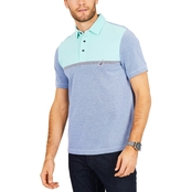 Nautica Classic Fit Color Blocked Polo Shirt