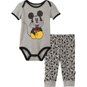 Disney Infant Boys 2 Pc. Mickey Mouse Set