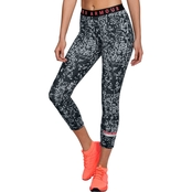 Under Armour Favorites Heathered Print Cropped Pants