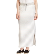 Lauren Ralph Lauren Striped French Terry Maxi Skirt