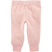 Carter's Infant Girls Pull-On Pants