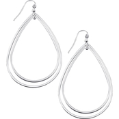 Guess Basic Extra Large Thin Hoop Earrings
