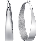 Guess Oval Hoop Earrings