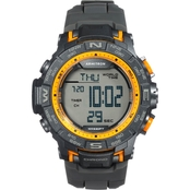 Armitron Men's Sport Yellow Accented Digital Chronograph Watch 40/8410YGY