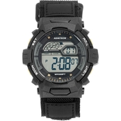 Armitron Men's Sport Digital Chronograph Black Nylon Strap Watch 40/8412BGD